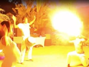 White Party Fire